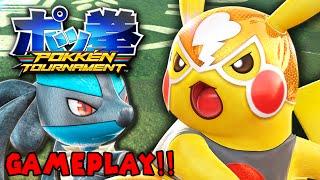Pokken Tournament GAMEPLAY! - Pokemon Fighting Game