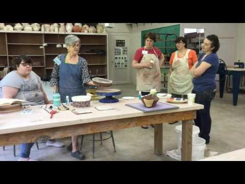 Victoria Christen: Arrowmont Workshop 2017