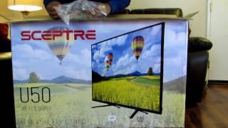"Sceptre U505CV-U 49"" 4K Ultra HD"