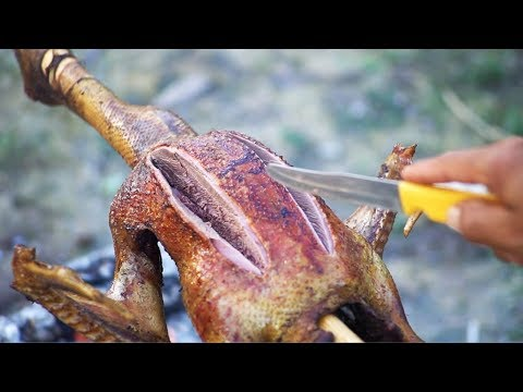 Outdoor BBQ - Muscovy Duck BBQ Recipe, Kitchen Foods