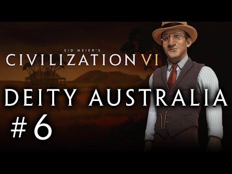 Let's Play: Civilization VI - Deity Australia! - Part 6