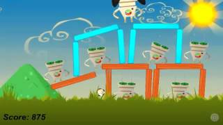 Angry Footballs 1 7 Rise parody to Angry Birds Android app Free