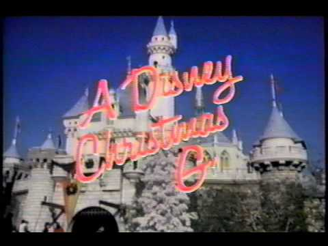 Opening To A Disney Christmas Gift 1984 VHS - YouTube