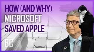 How Microsoft Saved Apple (And Why They Did It)