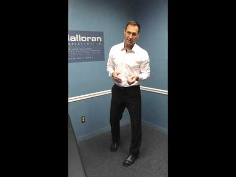Gastroc and Soleus Dynamic Stretching by John O'Halloran DPT