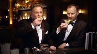 Mixing a Vesper Martini: Premium Bond with Mark Gatiss and Matthew Sweet - BBC Four