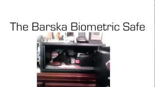 The Barska Biometric Safe - Security For Your Home And Family