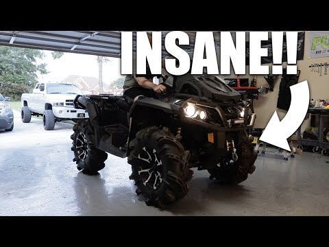 I SHOULD HAVE DONE THIS LONG AGO! 2017 CANAM OUTLANDER 1000 XMR GETS SICK NEW UPGRADE!!