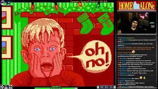 Один Дома 1 и 2 | Home Alone прохождение | Игра на (Dendy, Nes, Famicom, 8 bit) 1991. Стрим RUS