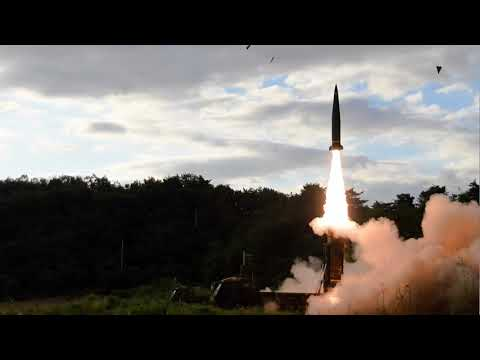 [WATCH] South Korea defense ministry missile launch