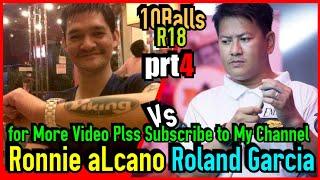 Part 4 | Ronnie Alcano VS. Roland Garcia Exhibition Match Prize 165k @ Pasig, Manila,
