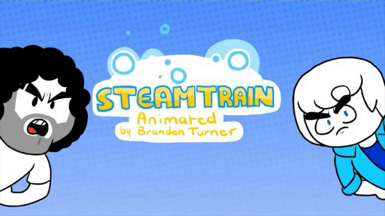 Steam Train Animated Intro (Dan and Ross) - by Brandon Turner