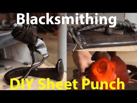 𝘉𝘭𝘢𝘤𝘬𝘴𝘮𝘪𝘵𝘩𝘪𝘯𝘨 - DIY Sheet Steel Punch & Steel Roses