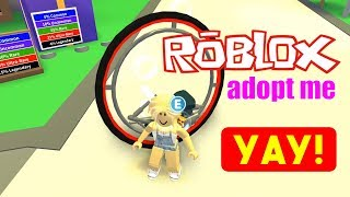 I got the new Adopt Me Legendary Monocycle (ROBLOX)