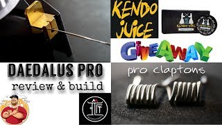 Daedalus Pro by Avid Artisian & Kendo Wire|Kendo Juice Review/Build{Hybrid Clapton}/Giveaway