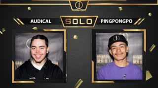Audical vs PingPong Po | Solo Top 16 Battle | American Beatbox Championships 2018