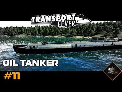Transport Fever Oil Tanker route | North Atlantic custom map #11