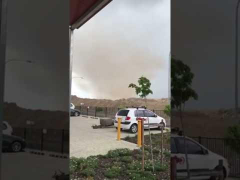 Dust 'Tornado' Whirls Through Brisbane Airport