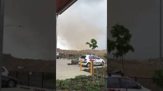 Dust 'Tornado' Whirls Through Brisbane Airport Top 10 Video