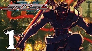 Strider Walkthrough Part 1 (HARD DIFFICULTY) - Cipher Charge Upgrade