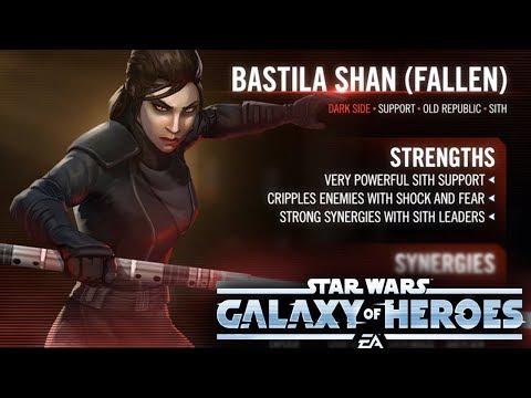 Dark Side Bastila Shan - Future Darth Revan Paywall? - Star Wars: Galaxy Of Heroes