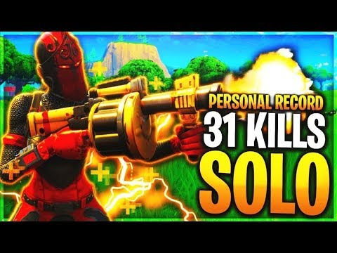 Fortnite Br Personal Record 31 Kill Win Solo Squad Youtube