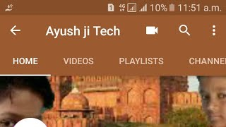 Apne youtube channel par option kaise laye like playlist about vidio costomize youtube channel
