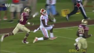 Deon Cain vs Florida State 2016