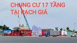 Flycam | Vị trí xây chung cư Sophia Center và toàn cảnh Phú Gia, Phú Cường Kiên Giang 03/11/2020
