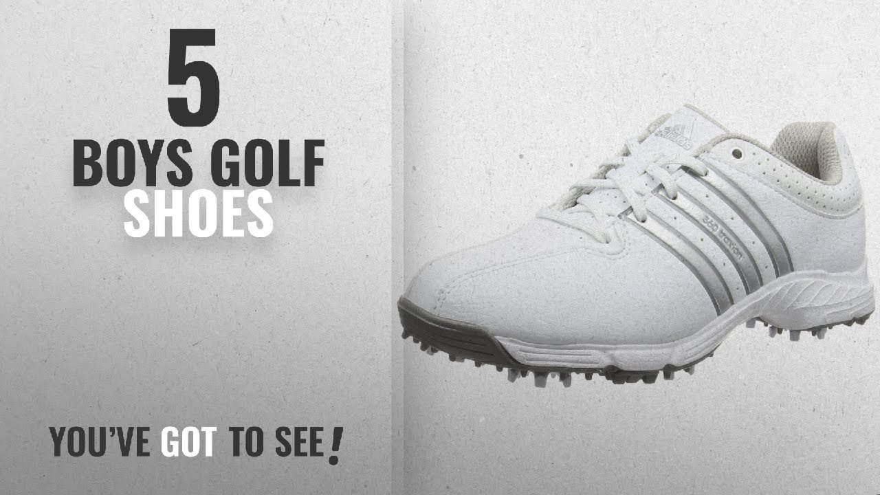 317629a17f463d Top 10 Boys Golf Shoes  2018   adidas 360 Traxion Unisex Kids  Golf ...