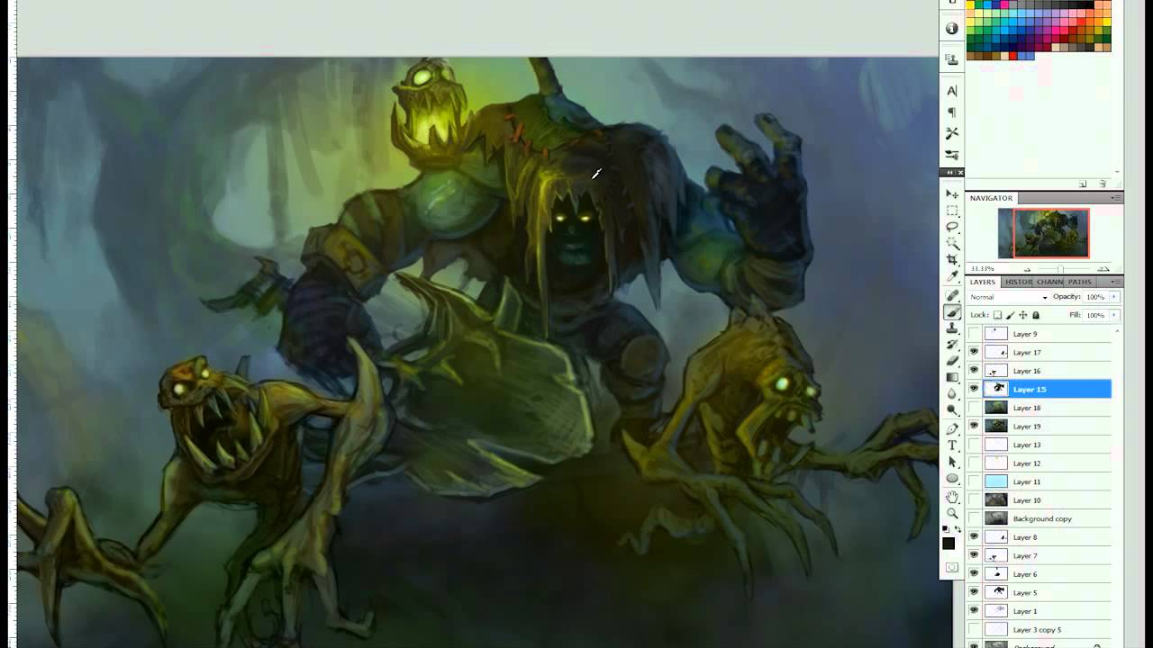 Yorick Art Spotlight League Of Legends