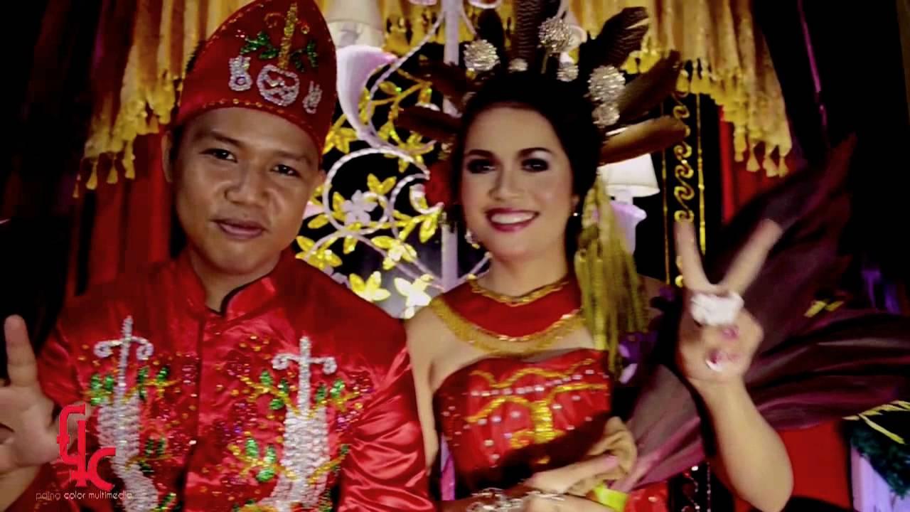 Wedding Dewi Frans Adat Dayak Maanyan Adat Pemberkatan Nikah