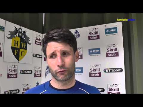 Havant & Waterlooville v Concord April 2014 & interviews