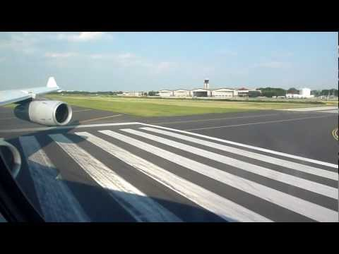 LH427: Full flight - From the gate in Philadelphia to the final apron position in Frankfurt