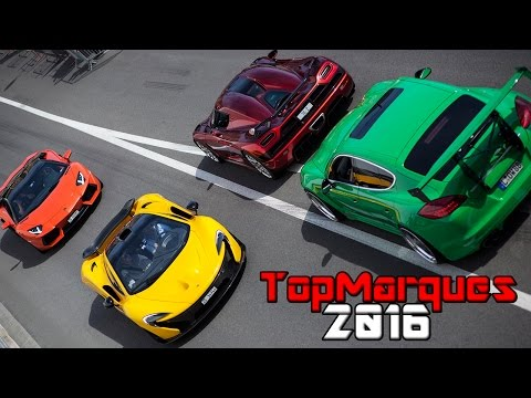 BEST OF TOP MARQUES MONACO 2016   SUPERCAR MADNESS + LOUD SOUNDS!
