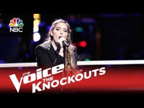 Korin Bukowski  All I Want The Voice Knockout 2015