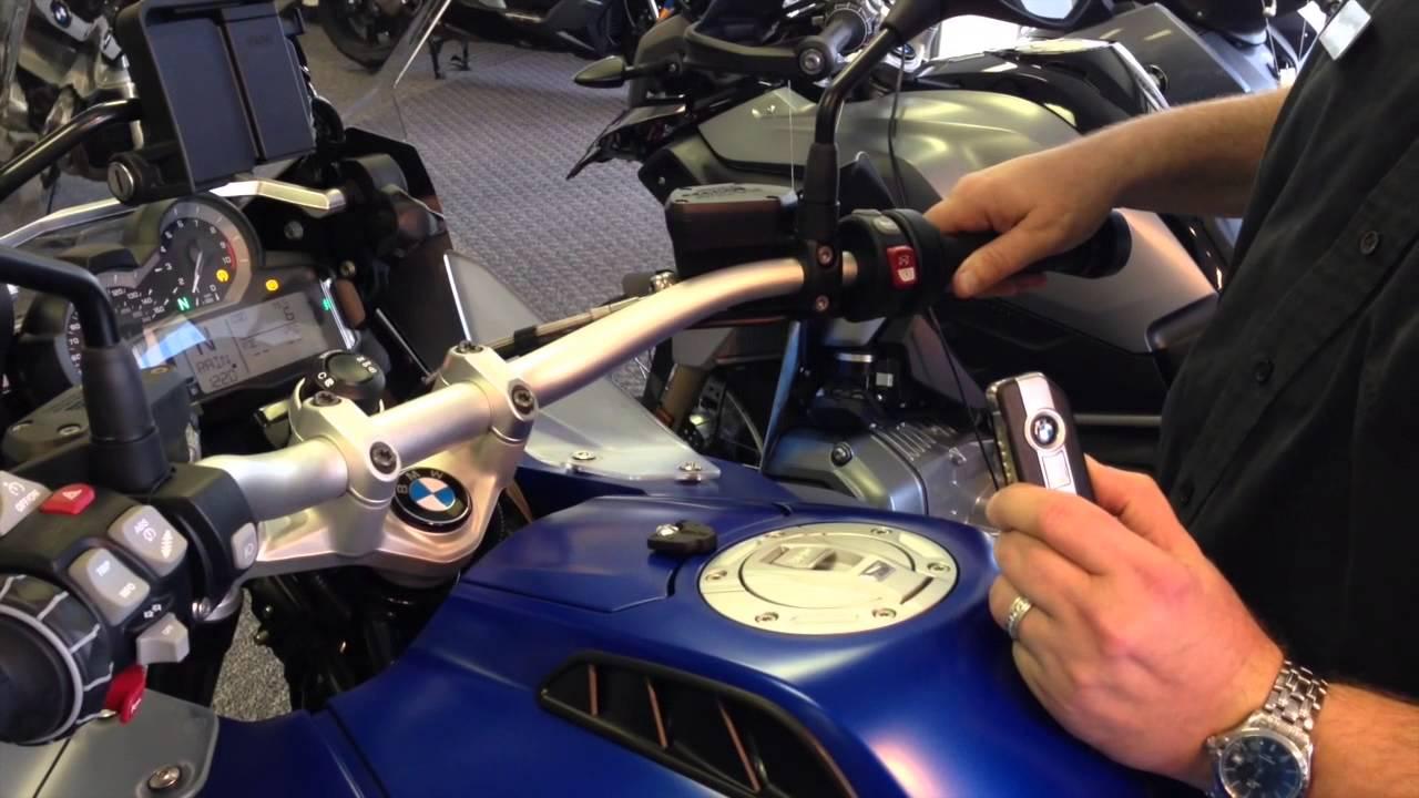 Keyless Ride 2015 Bmw R1200gs Youtube