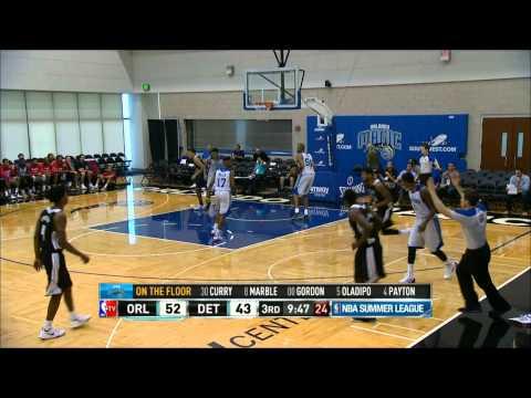 NBA Summer League: Orlando Magic vs Detroit Pistons