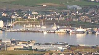 View of kirkwall on the  Orkney`s.wmv