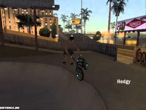 скачать мод на трюки на Bmx в Gta San Andreas - фото 3