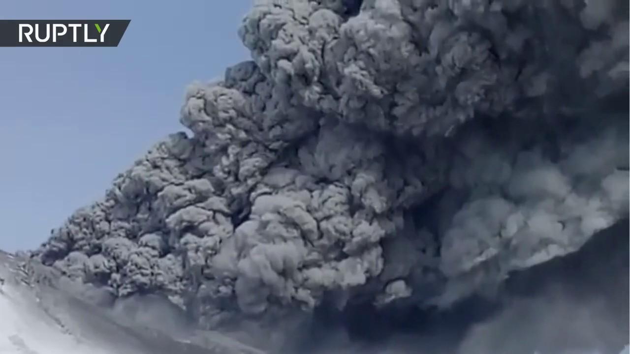Despierta en Rusia un volcán tras más de 200 años de inactividad