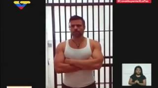 Diosdado presenta fe de vida de Leopoldo López grabado el día de hoy #3M [+