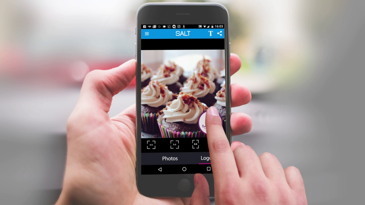 Salt App Easily Create A Banner For Your Business Youtube