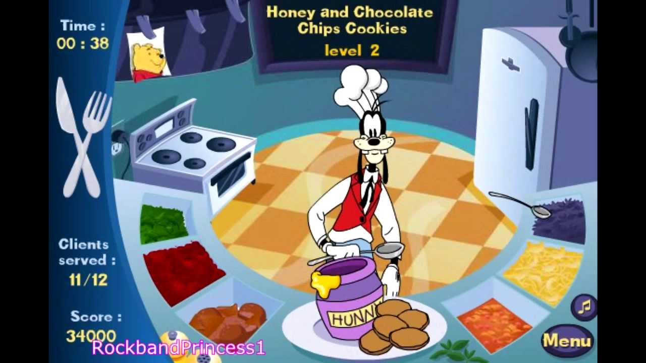 Mickey Mouse Games Pack The House Level 4 Frenzy Kitchen