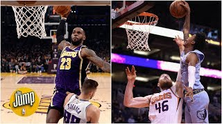 The top 10 dunks of the 2019-20 NBA season through the All-Star Break | The Jump