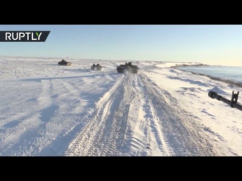 Winter is here: Russian Northern Fleet performs drills in the Arctic