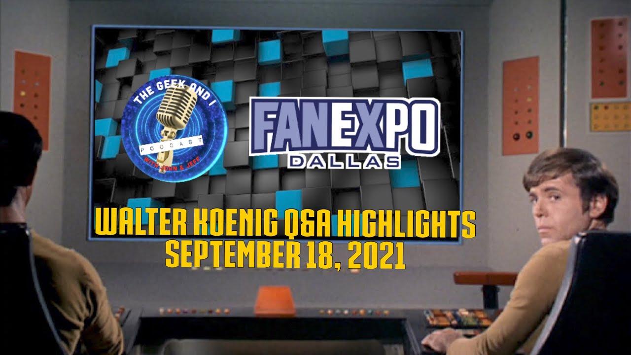 Download #FanExpo Q&A with #StarTrek legend #WalterKoenig : Part One