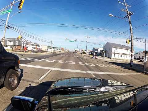 Seaside Heights and Rte 35N Jan. 10, 2013