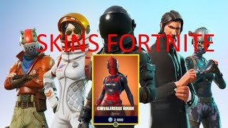 PRESENTATION OF MES SKINS PIOCHES AND FORTNITE PLANERs