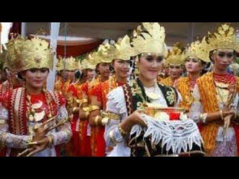 Tarian Tradisional Lampung Tari Bedana